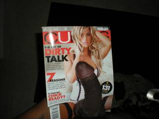 he knows how to read magazines? Wow, that must be the most intelligent dick on Zoig! (*naughty little smile*)  - Ms. Sweet -