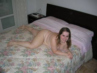 Wow, what a lovely cock hardening body you have girl.  I would love to get my hands on your generous curves and my face between those lovely thighs...