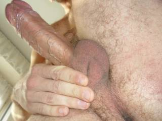 what do you think of my hard veiny cock?