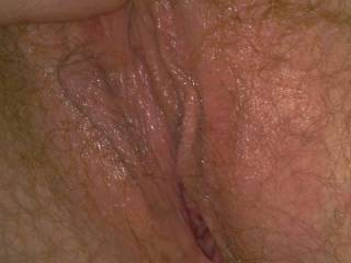Looks  beautiful..... do not know with what tostart....tongue, hand, cock? Would do...... all