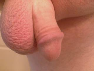 may not be huge (same here) but is perfectly formed and looks very attractive - very few cocks are actually good looking - this looks very lickable suckable and fuckable mmmmm especially if shared with Mrs!