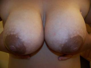 OMG...I just love big brown nipples.....Awesome!
