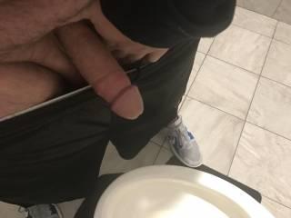 My big limp cock waitting to get hard