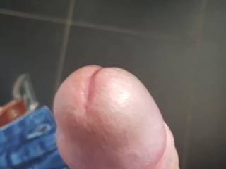 Exchanged some pics with a lovely lady. My dick started leaking.. So hot and horny!