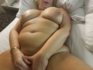 My husband just likes to watch me get my self off.  Who wants to see me?