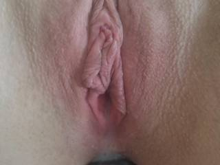 Horny wife freshly fucked!