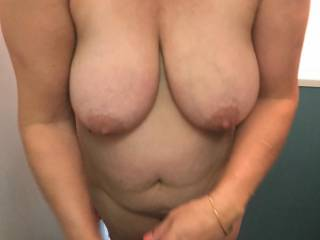 anyone ever thought about fucking the wifes big tits