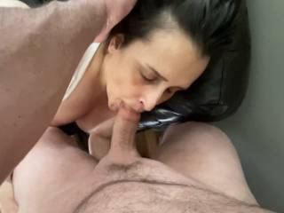 Sucking my cock so good