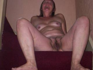 mrs h pose hope she tempts you with hairy pussy