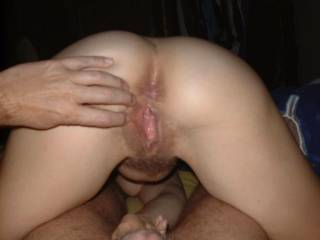 Looks like a juicy creampie to me! Love the hairy puss!