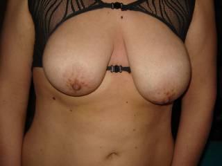 her big breasts...