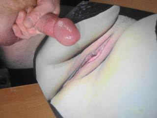 jerking off my throbbing lubed cock and ready to cum all over campingcunt\'s tasty pussy lips while watching her tribute video she made with my cock!