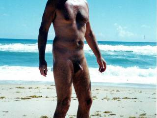 """I say, """"Well, officer, Mr. F may be nude, but at least he has a nice tan!!"""".  From Mrs. Floridaman"""