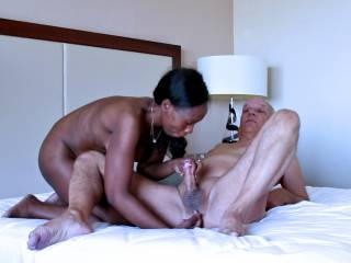 Enjoy some pics from an interracial porn shooting with pornstars Cane and Ana Loxx