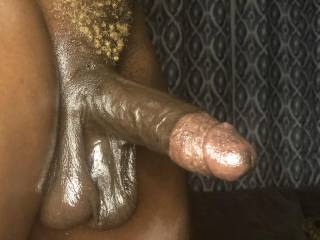 Where ever shall I put this throbbing bbc and these cumfilled balls?