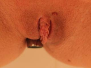 Look at how big my clit gets... I love rubbing it..