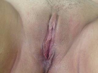 My trimmed pussy right after some fucking who would like to be next ?