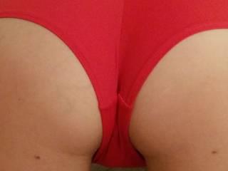 Spank me til I\'m red as my panties