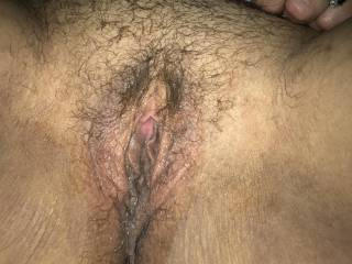 Wife's wet pussy