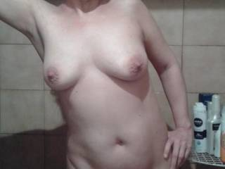 Another pic of my naked wife