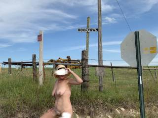 Another one from our outdoor adventure. Anyone else enjoy being nude outdoors with the thrill of possibly being caught?