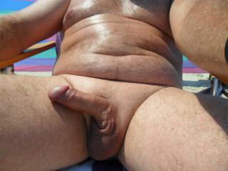 I got horny watching a couple at the nude beach