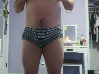 How does my Cock look in these undies??
