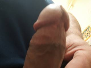 Edging,  was leaking pre cum