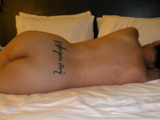 very hot ass sexy naked backside cool tattoo