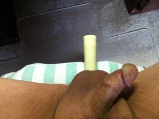 i would suck your cock and work that dildo in all the way!