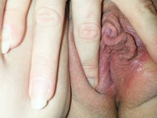 Want to suck that clit into my mouth. My cock is so hard.