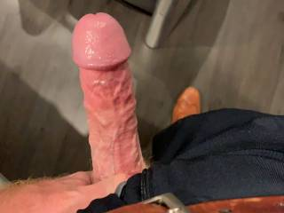 I sent my hubby dirty pics and texts and got him hard!