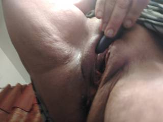 I absolutely love playing with my pussy