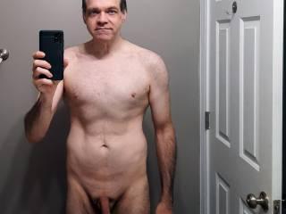 Nude body shot
