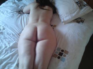 lying down after being fucked