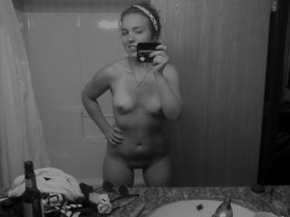 lovely breasts, tasty gap between your legs, sexy body, mmm - please mirror mirror on the wall can I please get the come fuck me call