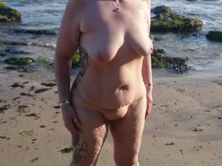 Love your titties - just the right size to fit a man's hands... and the rest...