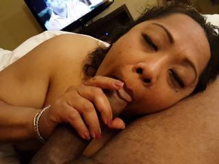 GUAM DENISE - Another series of Asian Denise rendevous,  showing her complete and utter OBSESSION with my THYCK BLACK COCK!... COMMENTS PLEASE. FEEDBACK WELCOMED!