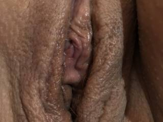 Showing you my pussy next ... tell me what you think, it will make hubby horny to know you love my pussy
