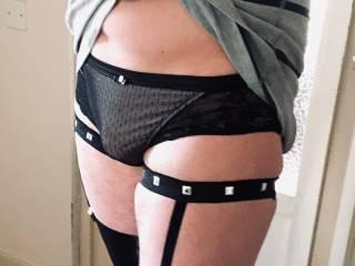 I feel so sexy wearing pretty lingerie please tell me it looks as good as it feels! ;)