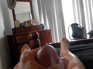gf was away and requested some cum shot videos so she could play too