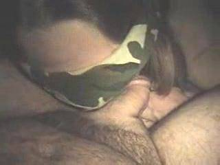 Wife starts with a soft cock ! And makes it grow with her tongue ! Then gags on it until it cums ! 