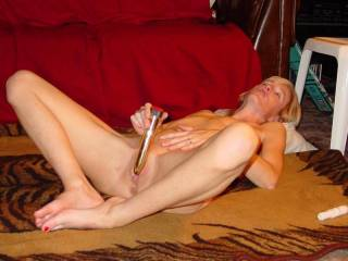 Id love to watch you masturbate withyour vibrator..while I masturbate for you..anytime..!!..HOT PIC!!..makin my cock ROCK HARD..thanks!!