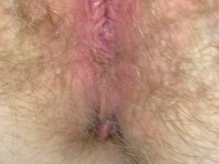 My wife\'s awesome tight hairy pussy after I licked and fucked that bald pussy I loved going back to my wife\'s hairy pussy. Will someone please do a cum tribute on one of pussy pics?