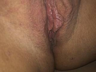 Long awaited fucking. My pussy is still wet and ready even after being beat up by his cock