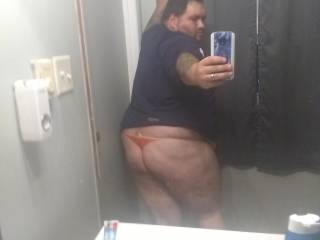 My sexy ass in panties