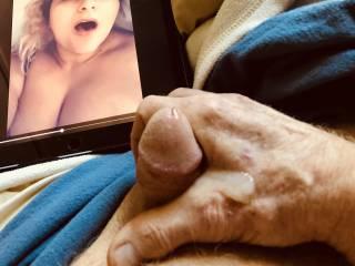 Result of masturbating while watching a friend masturbate.