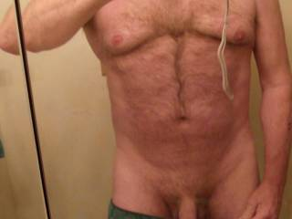came home horny and had fun in the shower after looking at real online naked women..