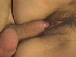would love to slide my hard cock in beside yours and fill her full...