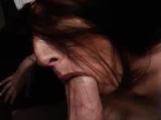 Sucking my mans cock like the good little slut i am.
